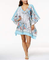 Vince Camuto Wildflower-Print Caftan Cover-Up Women's Swimsuit