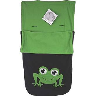 O Baby Snuggle Footmuff/Cosy Toes Compatible with Obaby Buggy Atlas Chase Zezu Tour Monty Twin Frog