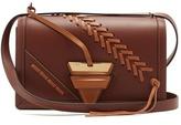 Loewe Barcelona large laced-leather shoulder bag