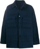 Jacquemus checked shirt jacket