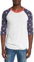 Alternative Men's Print Baseball T-Shirt