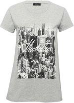 M&Co Manhattan city print t-shirt