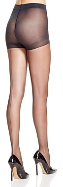 Hue Sheer Back Seam Control Top Tights
