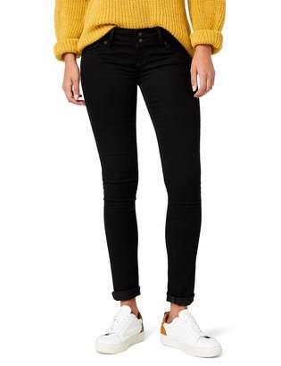 Cross Jeanswear Co. Cross Jeans Women's Cross Skinny Fit Melissa Skinny Fit Jeans - Black - Schwarz (black black) - 31/30 (Brand size: 31/30)