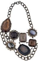 Erickson Beamon Multigem Collar Necklace