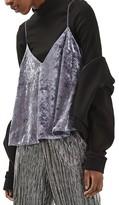 Topshop Women's Velvet Swing Camisole