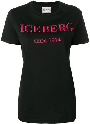 Iceberg embroidered logo T-shirt