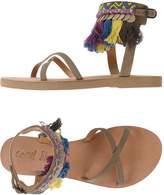 Coral Blue Sandals - Item 11385840