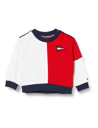 Tommy Hilfiger Girl's Colourblock Crew Sweatshirt
