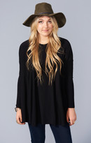 MUMU Will Tunic ~ Black Spandy