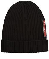 Prada Ribbed-knit beanie hat