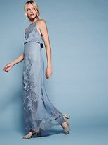 Free People Moonchild Embroidered Maxi Dress