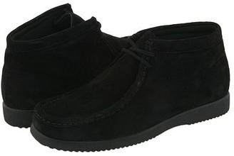 Hush Puppies Bridgeport (Black Suede) Men's Lace up casual Shoes