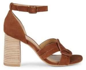 Splendid Leather Ankle Strap Sandals