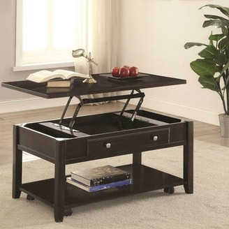 Alcott Hill Marisa Modern Lift Top Wooden Coffee Table with Storage Alcott Hill