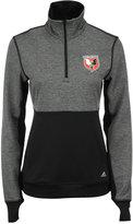 adidas Women's DC United Quarter-Zip Climalite Jacket