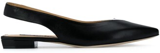 Sergio Rossi Slingback Ballerina Shoes