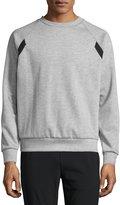 Theory Brence Teknit Sweatshirt, Gray