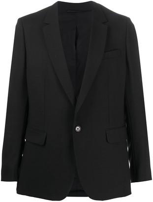 Ann Demeulemeester Tailored Single-Breasted Blazer