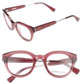 Derek Lam Women's 47Mm Optical Glasses - Black Brown