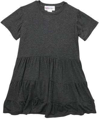 Cotton Emporium Tiered Short Sleeve Dress