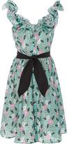 Manoush Ruffled Print Dress