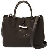 Longchamp Roseau Héritage Small Leather Tote