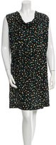 Gerard Darel Printed Chiffon Dress