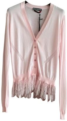 Rochas Pink Cotton Knitwear for Women
