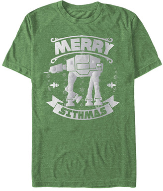 Fifth Sun Men's Tee Shirts KELLY - Star Wars Kelly 'Merry Sithmas' Tee - Men