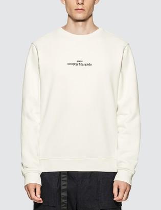 Maison Margiela Embroidered Logo Sweatshirt