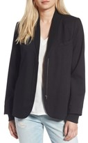 Treasure & Bond Women's Rib Trim Blazer