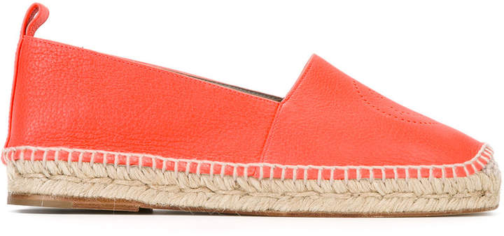 Anya Hindmarch Smiley espadrilles