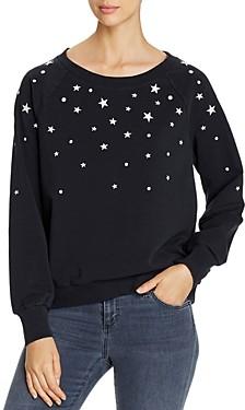 BILLY T Star & Polka Dot Sweatshirt