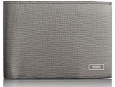 Tumi Men's Monaco Leather Rfid Wallet - Grey