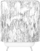 Deny Designs Marble Swirled Shower Curtain
