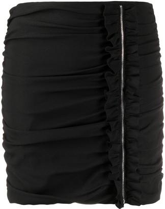P.A.R.O.S.H. Senvery ruched mini skirt