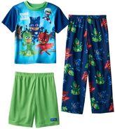 Boys 4-6 PJ Masks 3-Piece Pajama Set