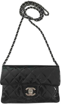 Chanel Wallet on Chain Black Patent leather Handbags