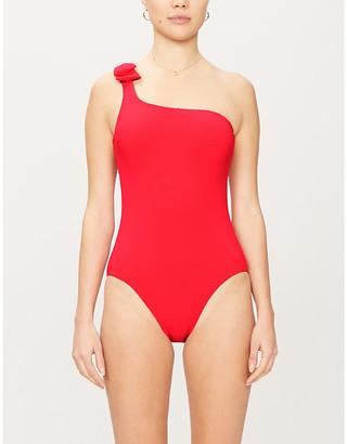 Zimmermann Zinnia tie-detail swimsuit