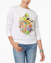 Freeze 24-7 Juniors' Nickelodeon Characters Graphic Sweatshirt