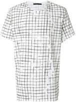 Haider Ackermann square print T-shirt