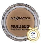 Procter & Gamble 2 x Max Factor, Miracle Touch Foundation, 75 Golden, (11.5g) [Misc.] by Proctor and Gamble