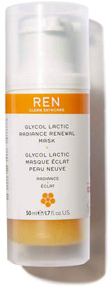 REN Glycol Lactic Radiance Renewal Mask, 1.7 oz./ 50 mL