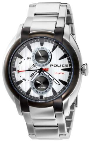 Police Men's PL-12534JSTU/04M Independence Dial Watch