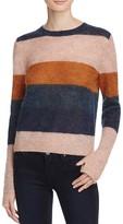 Pam & Gela Alpaca Blend Stripe Sweater