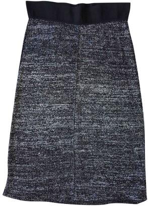 Isabel Marant Grey Linen Skirt for Women