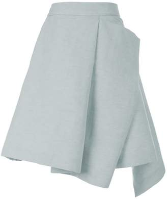 Adelina Rusu Castle Skirt Blue