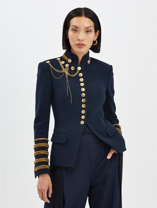 Oscar de la Renta Military Jacket
