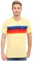 U.S. Polo Assn. Chest Stripe V-Neck T-Shirt